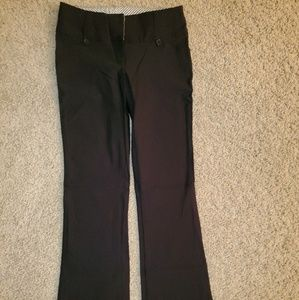 Women's Rue21 Black Dress Pants, sz 3/4